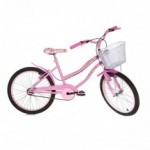 Bicicleta Aro 20 Rharu Miss Rosa