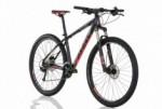 Bicicleta Sense ROCK EVO 2018 Preta/Vermelha 27 Velocidades