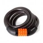 Cadeado Espiral Com Segredo 12X1500mm Fume
