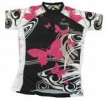 Camisa Penks Borboleta Feminina - Rosa e Preta