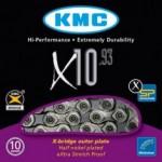 Corrente KMC X-10 Prateado 10 Velocidades
