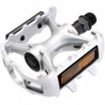 Pedal de Alumínio Rosca 1/2 com Esferas e Refletor - Wellgo LU93