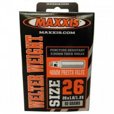 camara-de-ar-maxxis-26x1.01.25-welter-weight-presta-48mm