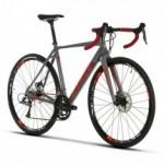 Bicicleta Speed Alumínio Sense Criterium 2019 - Cinza / Vermelho