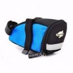 Bolsa de selim de bicicleta de Nylon com refletor - Venzo