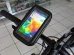 Suporte Bolsa para Celular Galaxy S5/S6 para Bike ou Moto