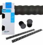 Fita De Guidão Shimano Pro Eva Silicone 2,5mm Preto
